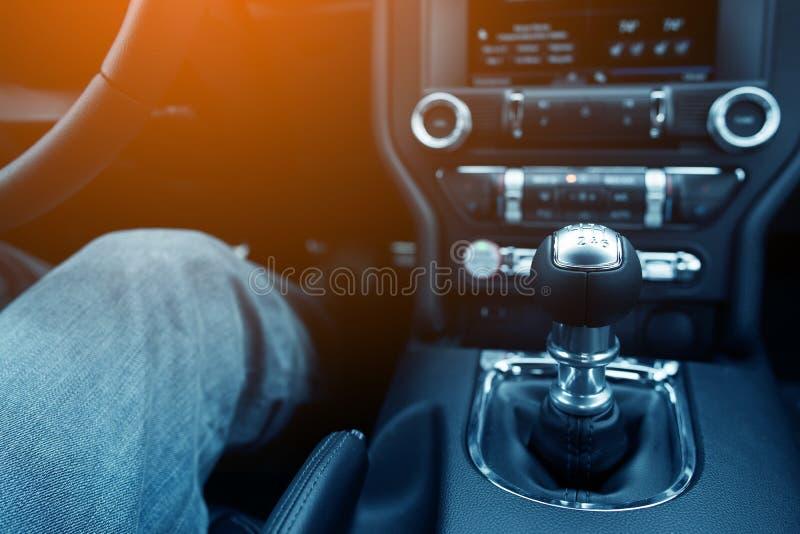 Driver dello spostamento di bastone fotografie stock libere da diritti