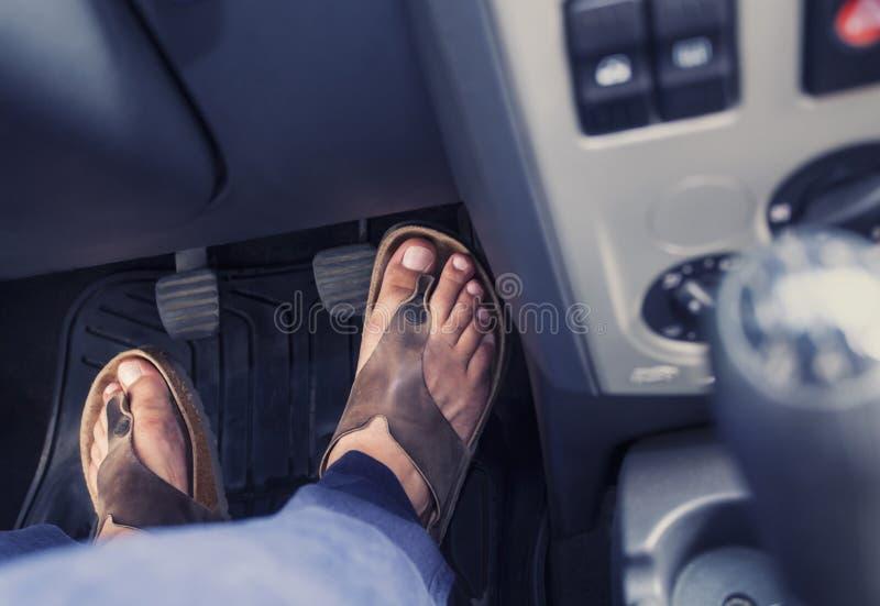 Driver di estate fotografia stock libera da diritti