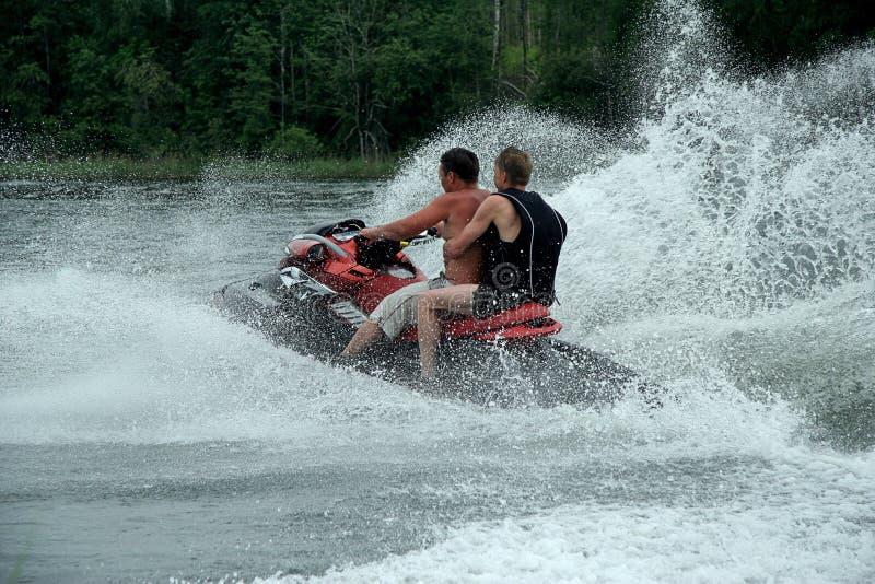 Driver di motociclo dell'acqua immagini stock