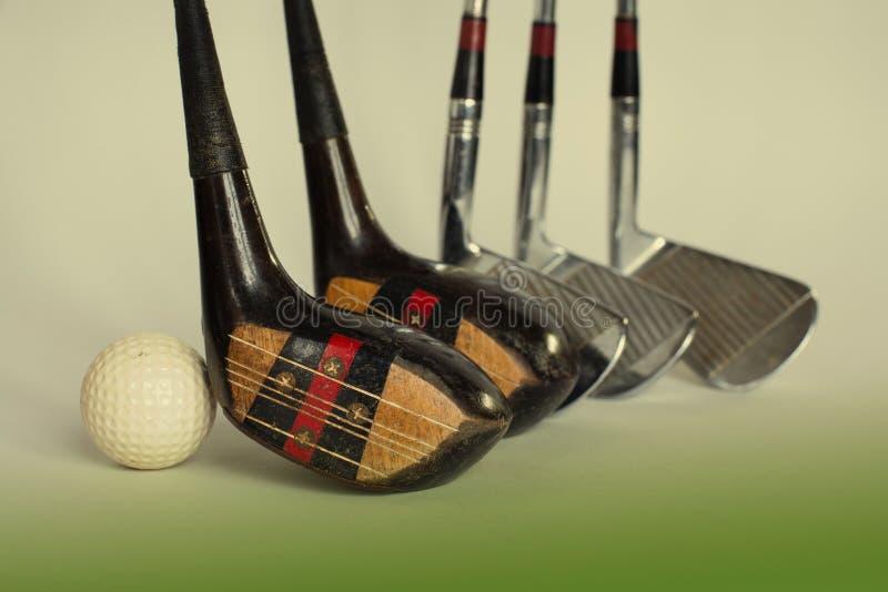 Driver e palla di golf Foto modificata fotografia stock libera da diritti