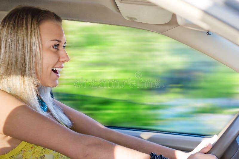 Driver impressionabile fotografia stock