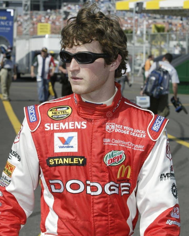 Driver Kasey Kahne di NASCAR fotografia stock