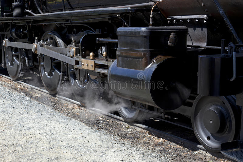 Download Drivers On Steam Locomotive Stock Photo - Image: 33976200
