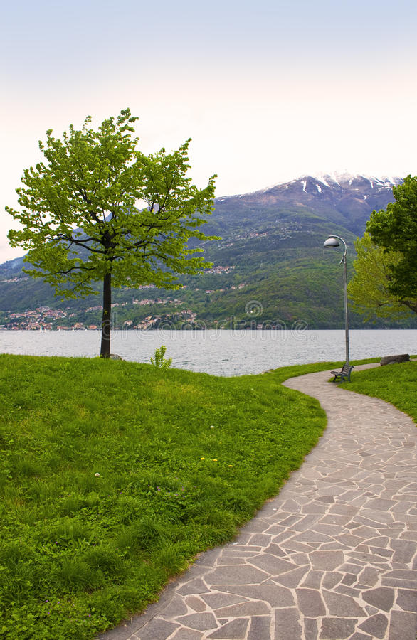 Download 'driveway In The Park Stock Photo - Image: 12813940