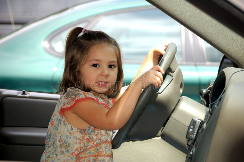 Download Driving stock image. Image of year, traffic, hair, children - 1815757