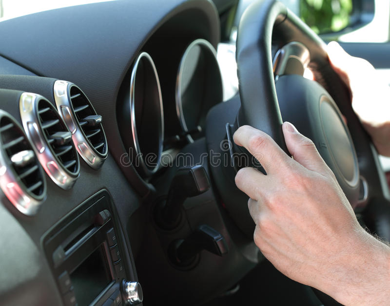 Download Driving a car stock image. Image of male, transportation - 14836951