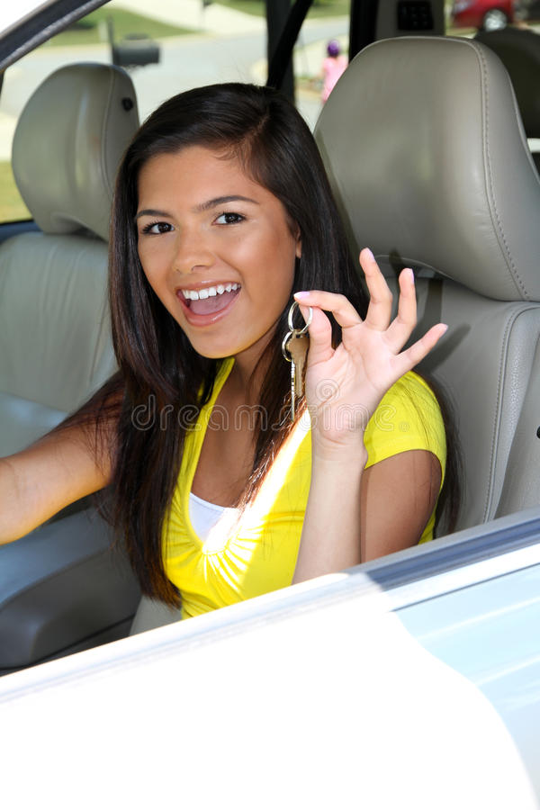 Download Driving Car stock image. Image of hold, teen, driving - 24365013