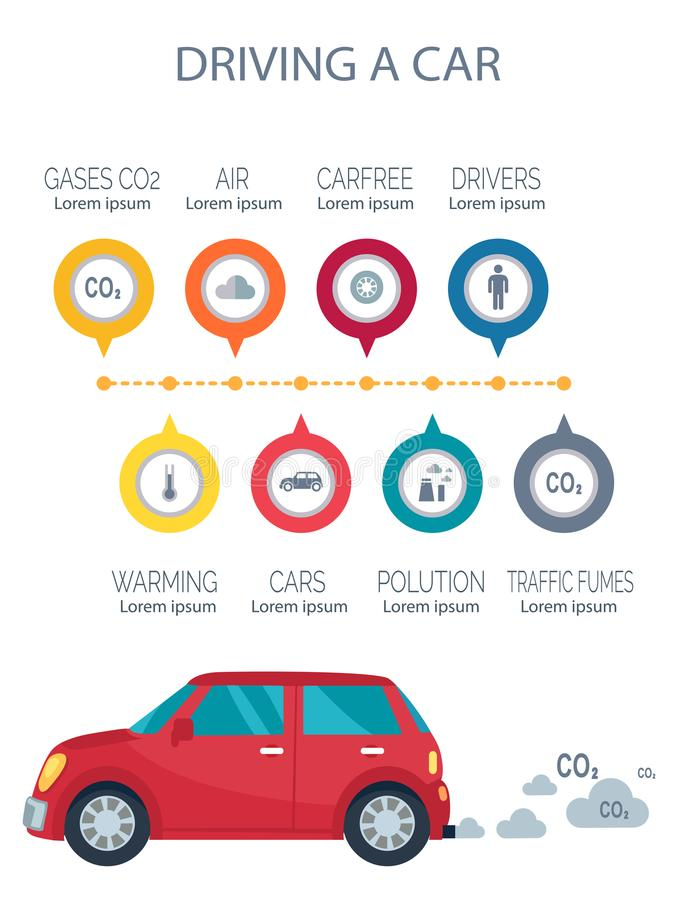 Download Driving A Car Poster Vector Illustration On White Stock Vector - Illustration of dark, atmosphere: 104451534