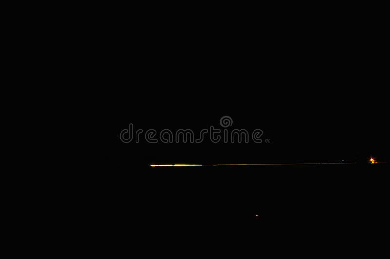 DRIVING IN THE DESERT BY NIGHT. DRIVING IN THE IRANIAN DESERT BY NIGHT royalty free stock photography