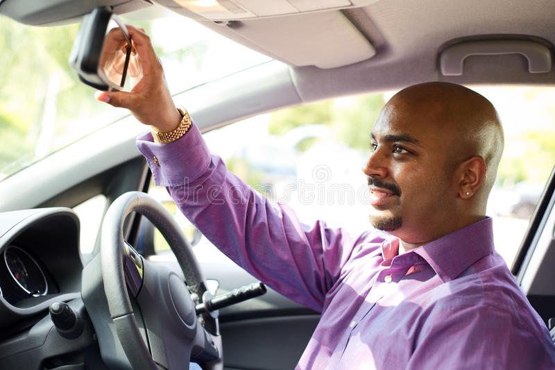Driving stock image