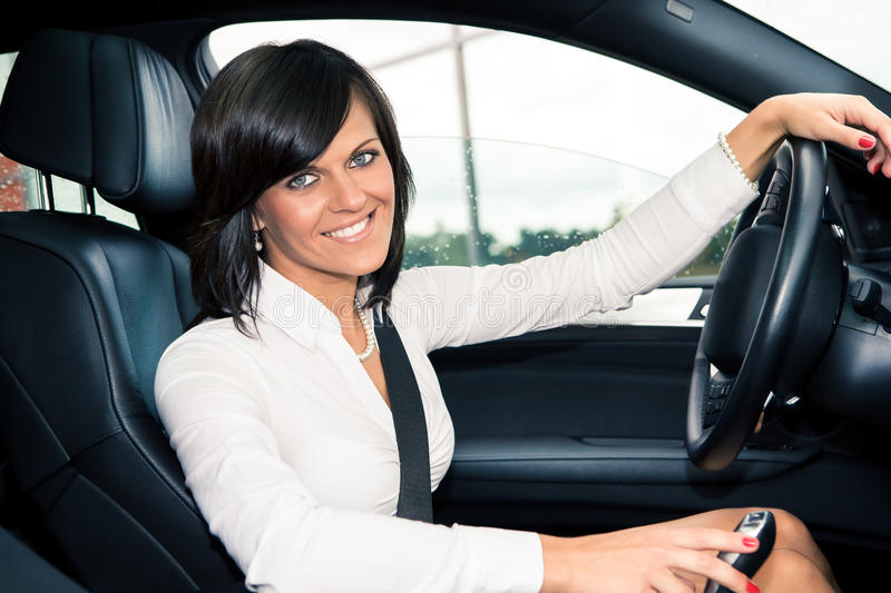 Download Driving girl stock photo. Image of person, driver, vehicle - 27639790