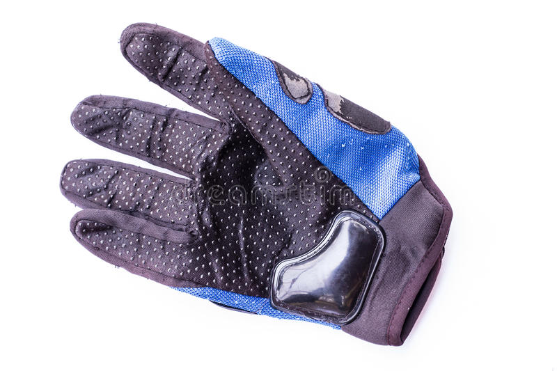 Driving Gloves on white stock photography