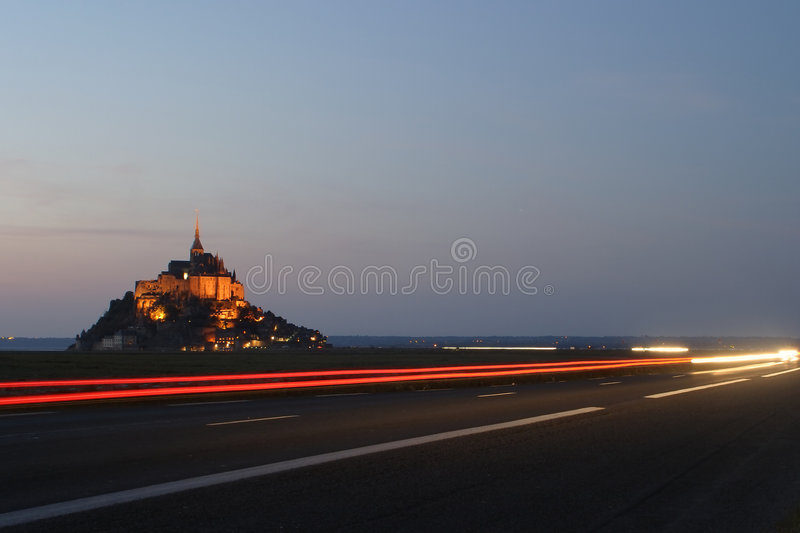Download Driving Home From Mont Saint Michel Stock Image - Image: 1496983