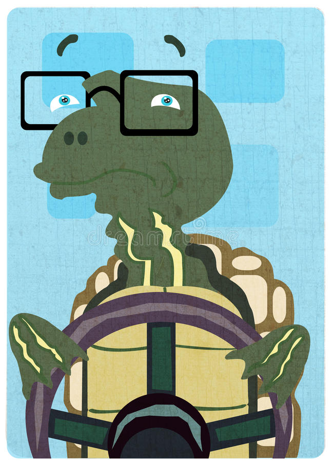 Download Driving Moods - Turtle stock illustration. Image of driving - 9909458
