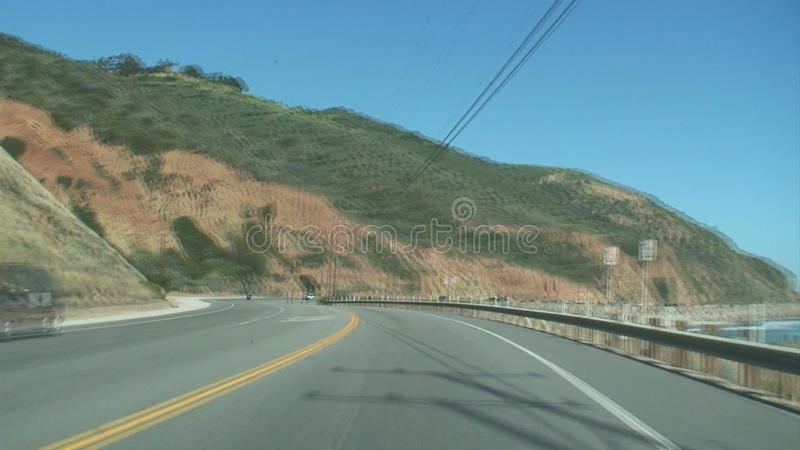 Driving on PCH - Front Camera Mount - Speed Up