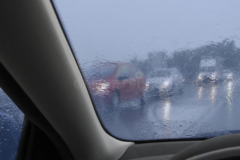 Download Driving In The Rain Stock Images - Image: 15057814
