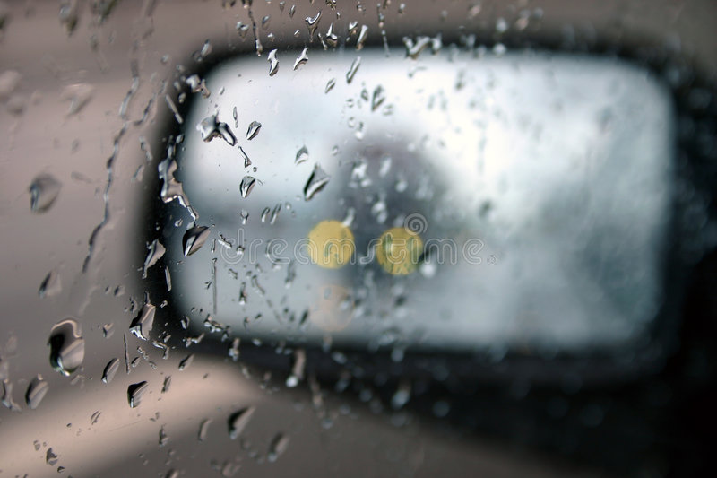 Download Driving in the rain II stock photo. Image of mist, mirror - 7230