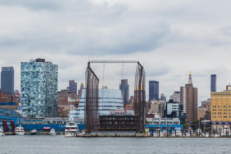 Driving range do ouro em New York City imagens de stock royalty free
