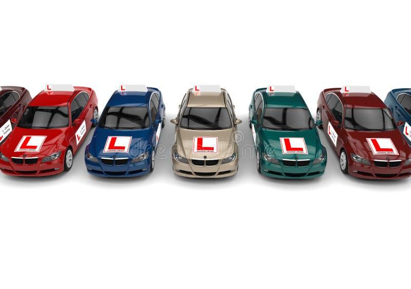 Driving School concept stock illustration