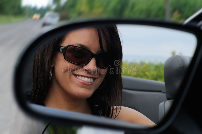 Download Driving A Sports Car stock photo. Image of smile, inside - 6413318