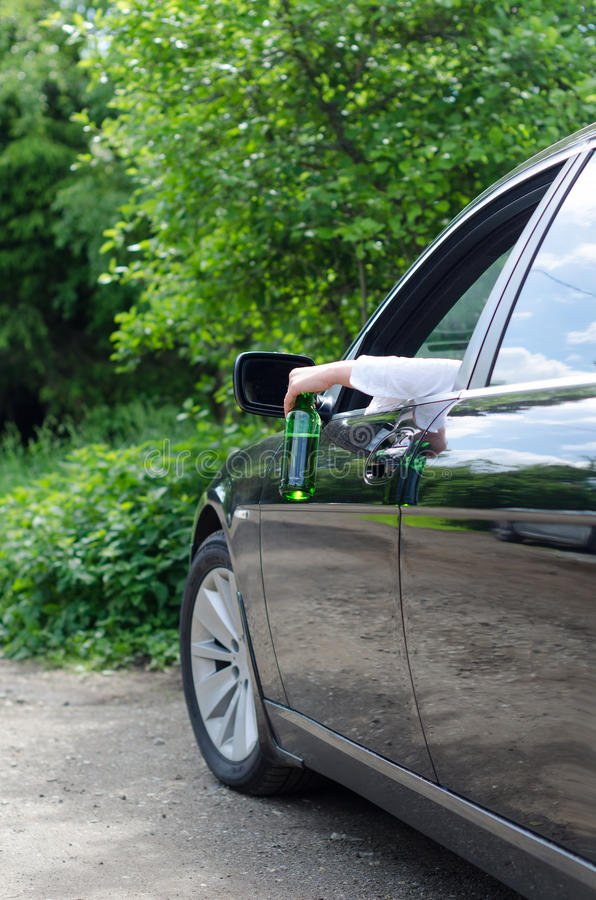 Driving Under the Influence. stock photos