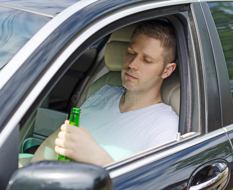 Driving Under the Influence. stock images