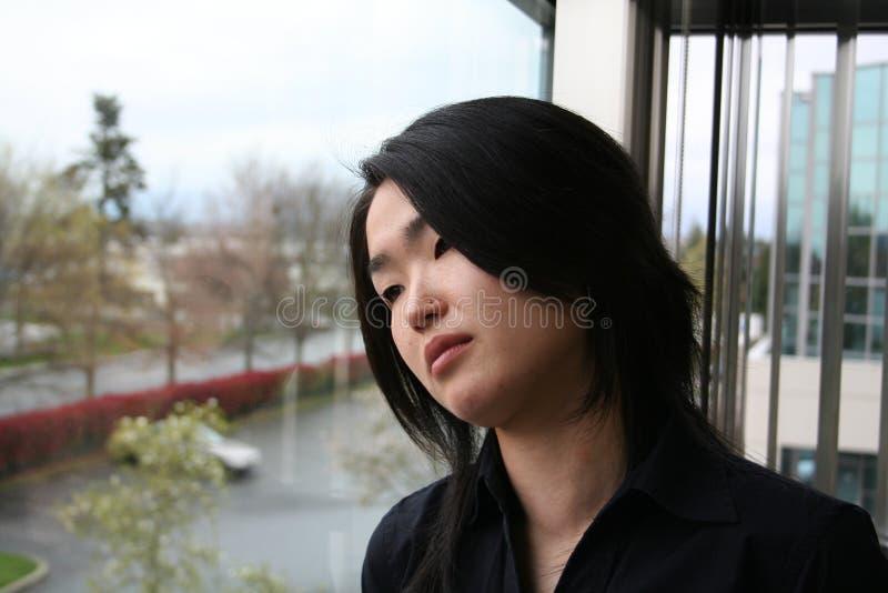 Download Droevig meisje stock afbeelding. Afbeelding bestaande uit schoonheid - 290683