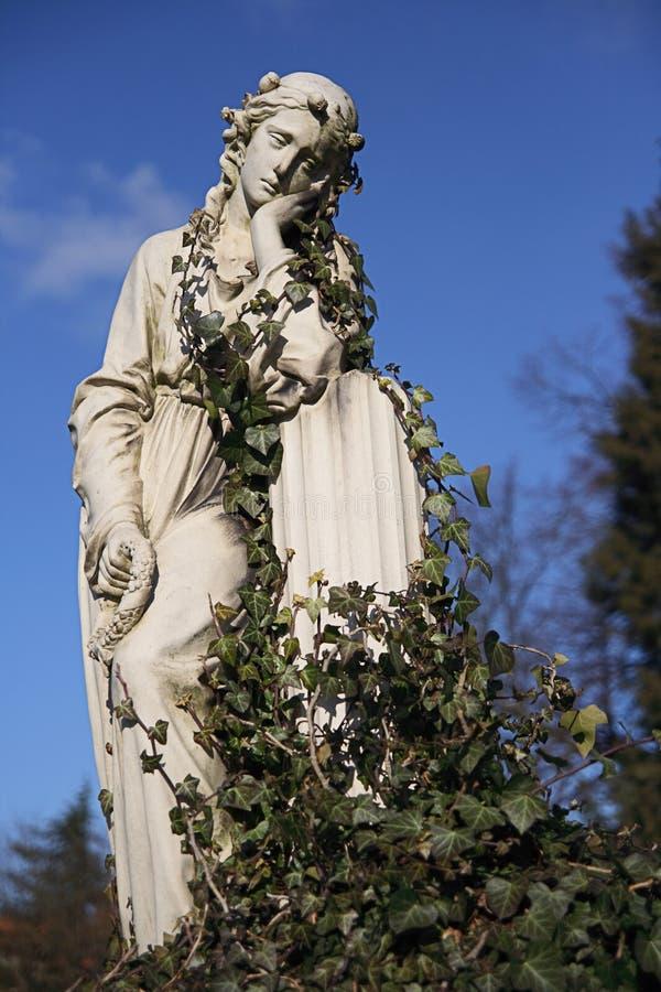 Droevige Maagdelijke Mary stock afbeeldingen