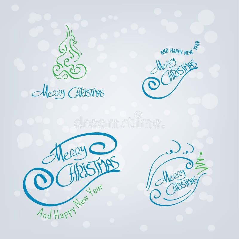 Drog beståndsdelar för glad jul hand arkivfoton