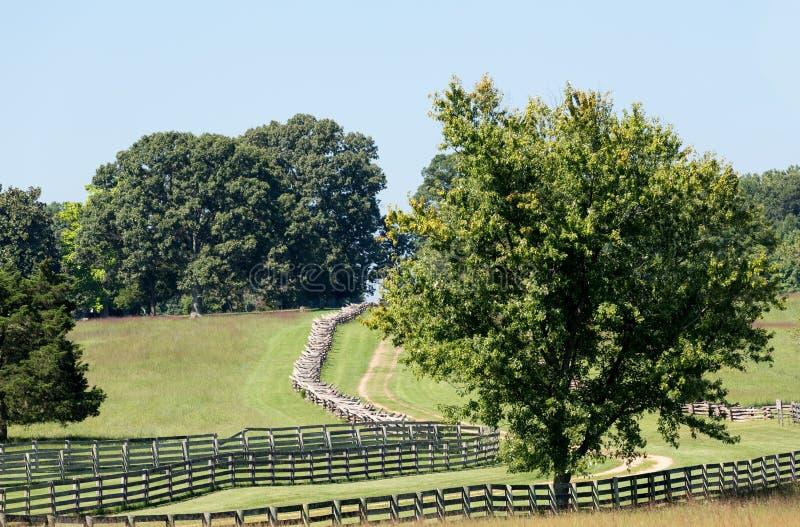 Droga Appomattox gmachu sądu park narodowy zdjęcie stock