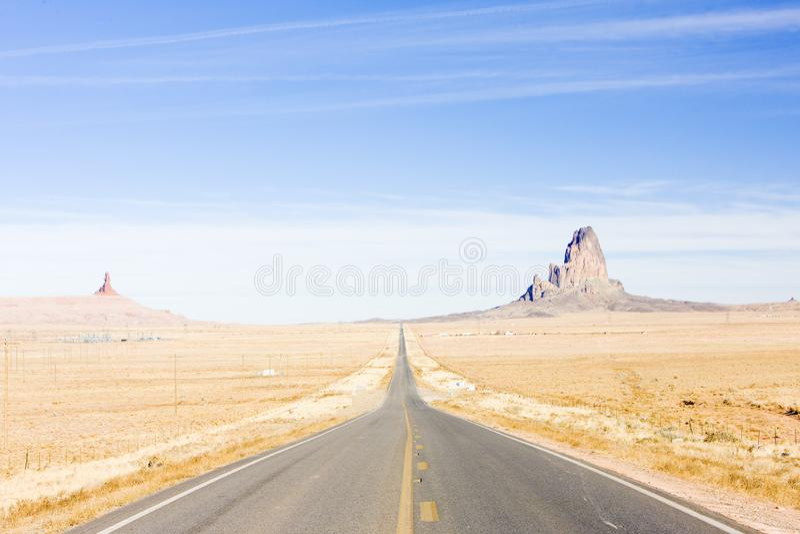 droga, Arizona, usa obrazy royalty free