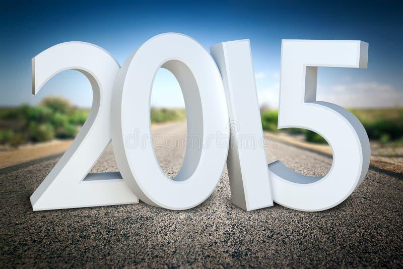 Droga horyzont 2015 ilustracji