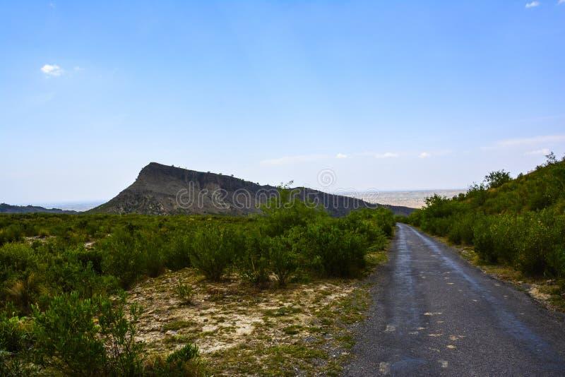 Droga Kanhatti ogródu Wkrótce dolina obrazy stock