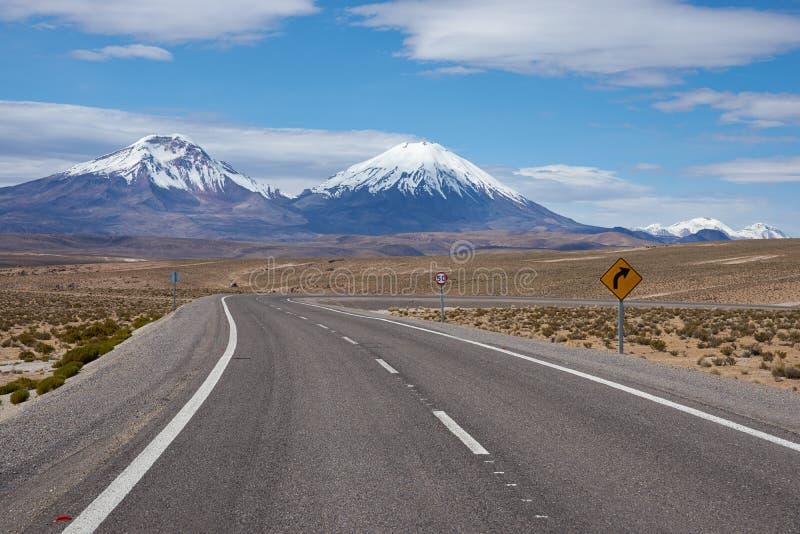 Droga na Altiplano fotografia royalty free