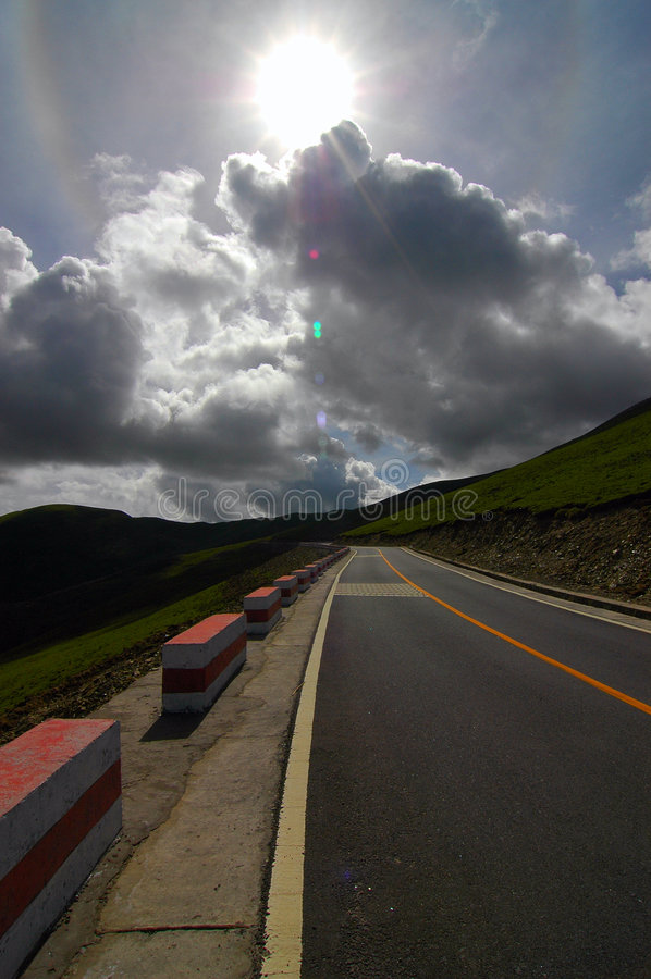 droga podróżująca zdjęcie stock