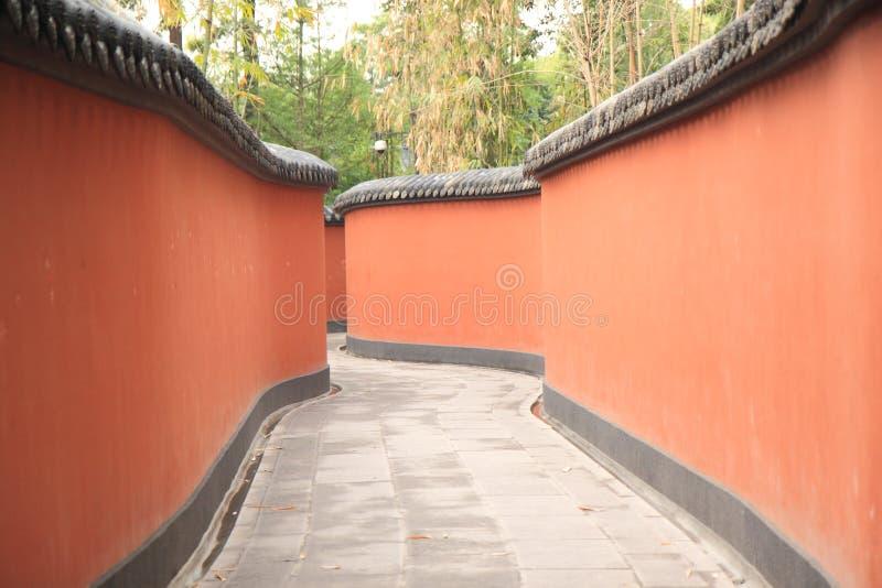 Droga przemian w Chengdu Chiny zdjęcie royalty free