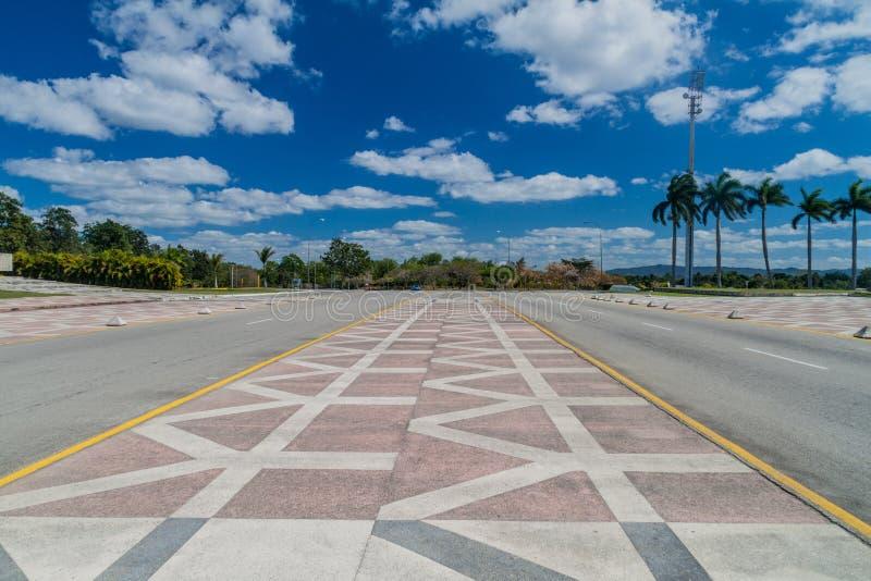 Droga przy Che Guevara zabytkiem w Santa Clara, Cu zdjęcie stock
