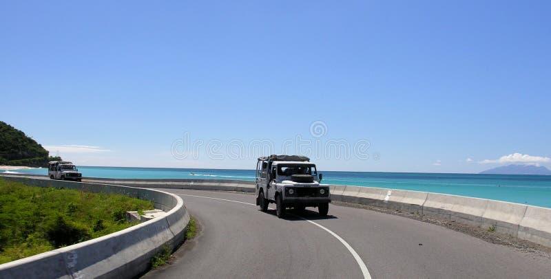 droga przybrzeżna zdjęcie stock
