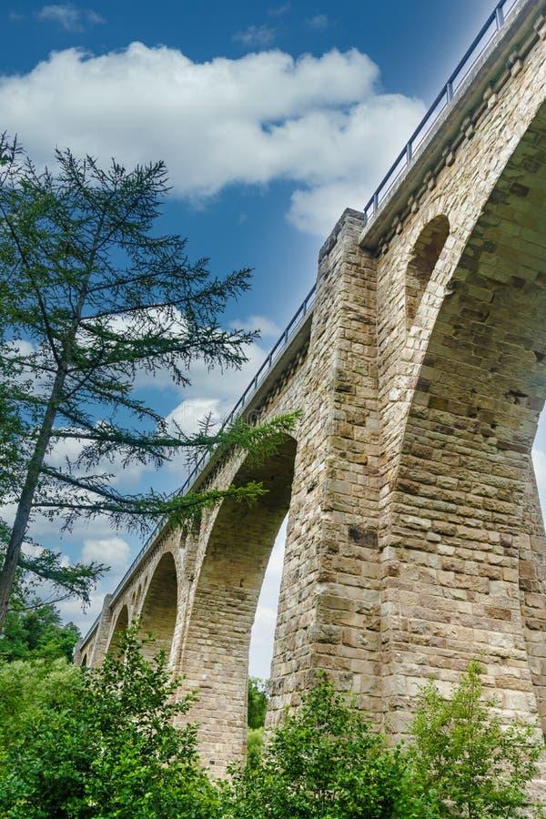 Droga rowerowa Viaduct fotografia royalty free