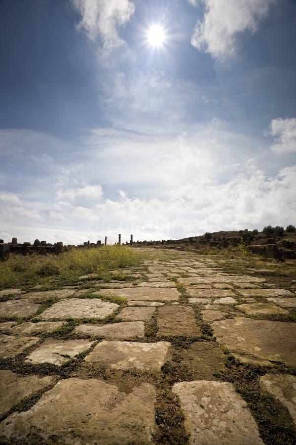 droga rzymska zdjęcia royalty free