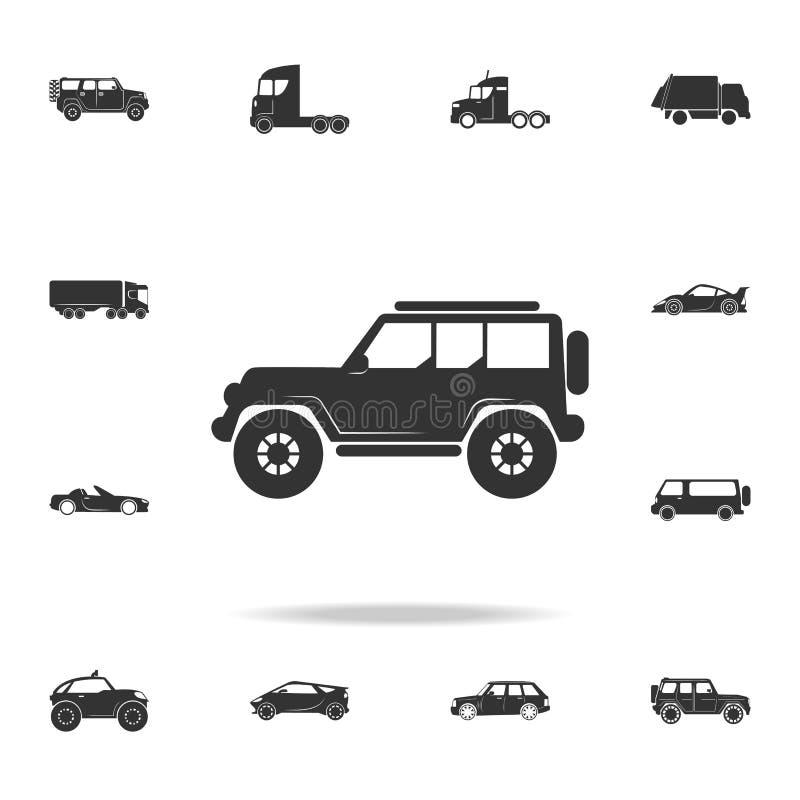 Droga samochodu ikona Szczegółowy set przewiezione ikony Premii ilości graficzny projekt Jeden inkasowe ikony dla stron interneto ilustracji