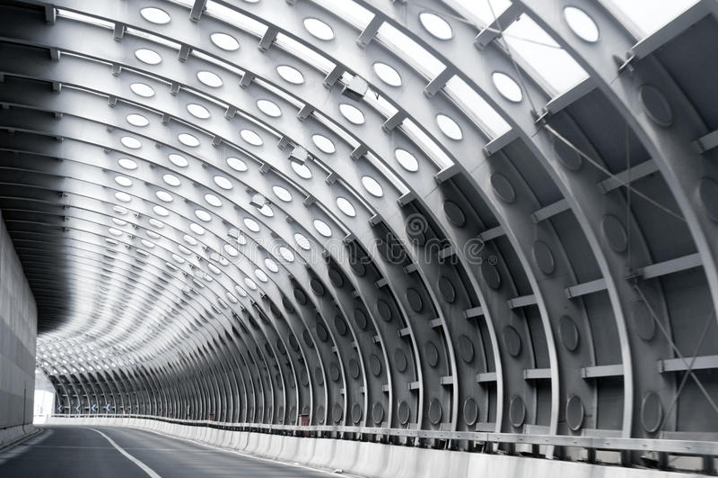 droga tunel obrazy royalty free