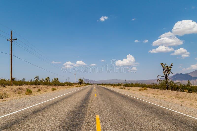 Droga w Arizona zdjęcia royalty free