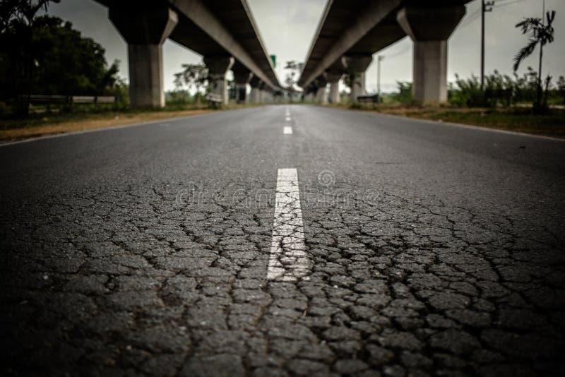 Droga w Bangkok Tajlandia obraz royalty free