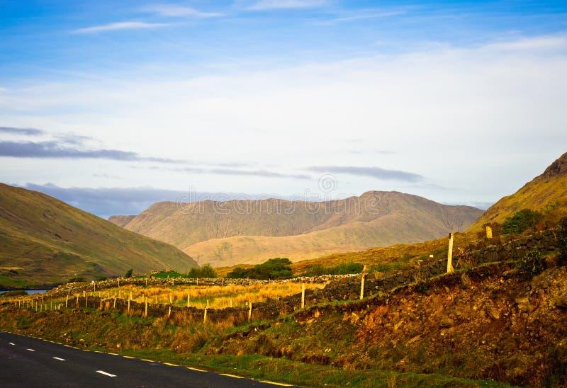Droga w Connemara, Irlandia obraz royalty free
