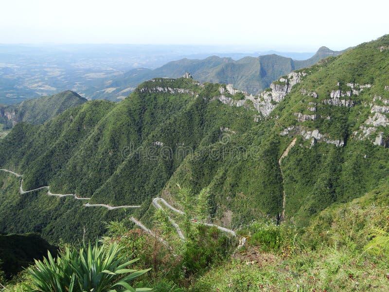 Droga w górach fotografia royalty free