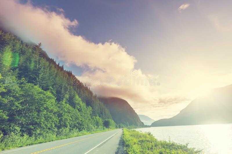 Droga w górach zdjęcia stock
