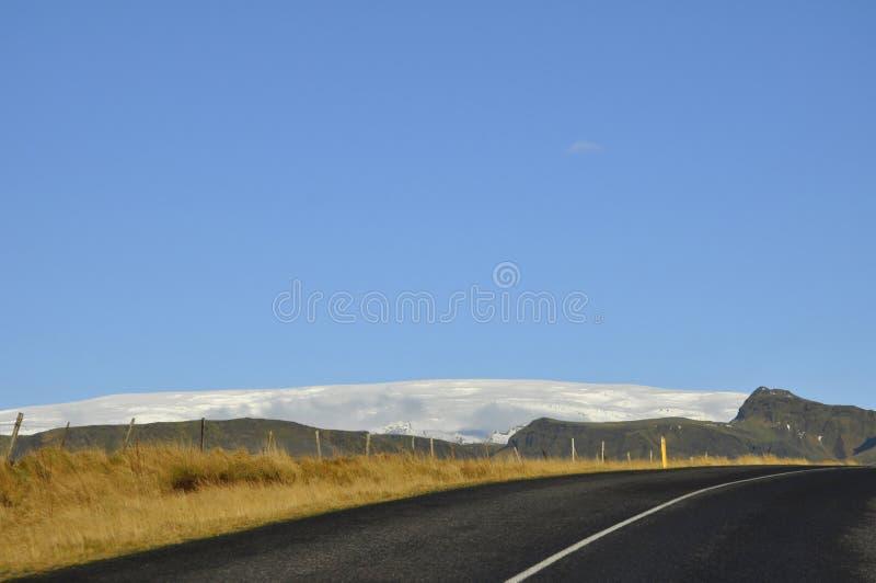 Droga w Iceland zdjęcia stock