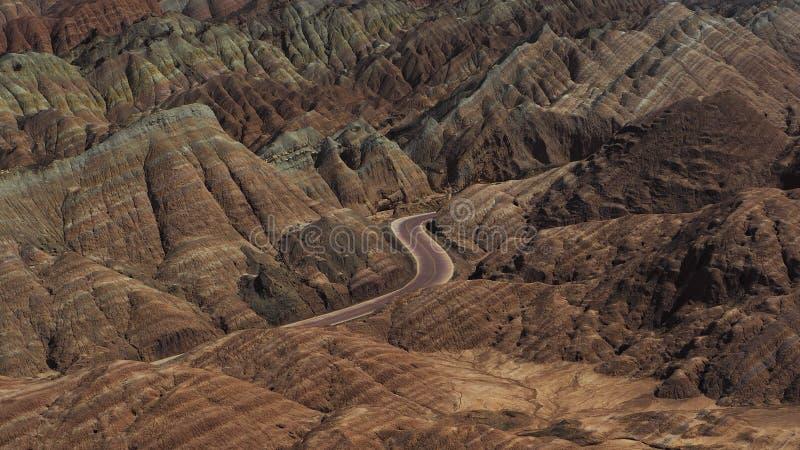 Droga w landwave zdjęcie stock
