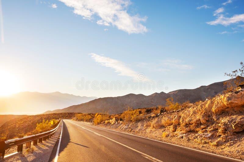 Droga w prerii obrazy stock